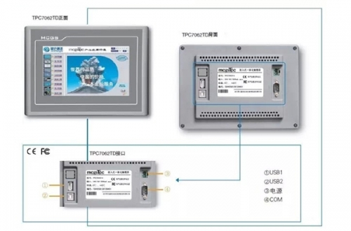 K系列 TPC7062KD 触摸屏